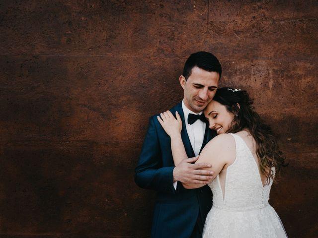 O casamento de Cátia e Bruno
