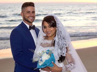 O casamento de Grenda e Célio