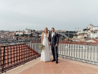 O casamento de Linda e Aljoschua