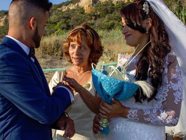 O casamento de Célio e Grenda em Fonte da Telha, Almada 43