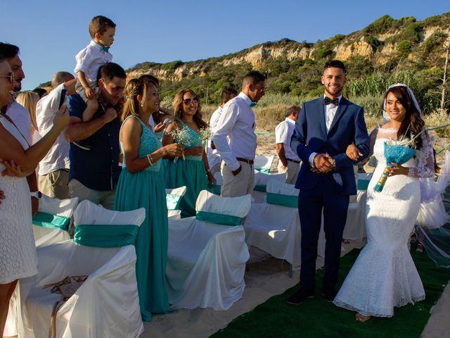 O casamento de Célio e Grenda em Fonte da Telha, Almada 44