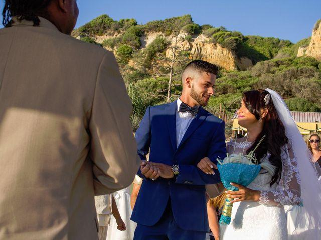 O casamento de Célio e Grenda em Fonte da Telha, Almada 45