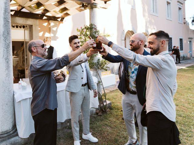 O casamento de Diogo e Dóris em Linda a Velha, Oeiras 129