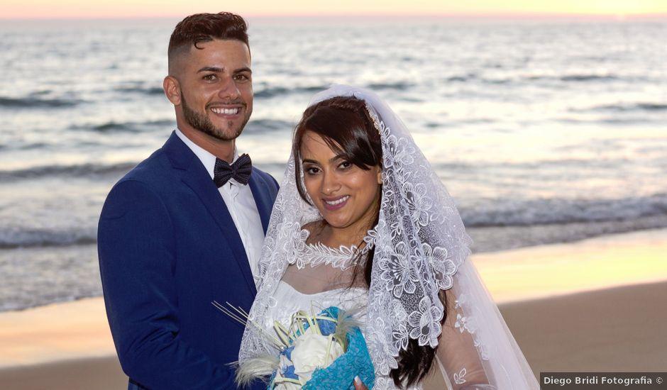 O casamento de Célio e Grenda em Fonte da Telha, Almada