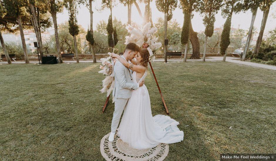 O casamento de Diogo e Dóris em Linda a Velha, Oeiras