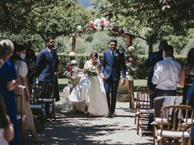 O casamento de Rafael e Sara em Santar, Nelas 27