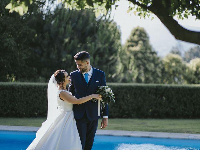 O casamento de Rafael e Sara em Santar, Nelas 45