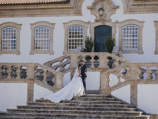 O casamento de Rafael e Sara em Santar, Nelas 59