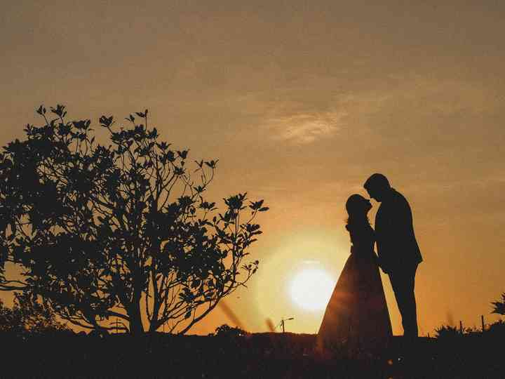 O casamento de Raquel e Ricardo