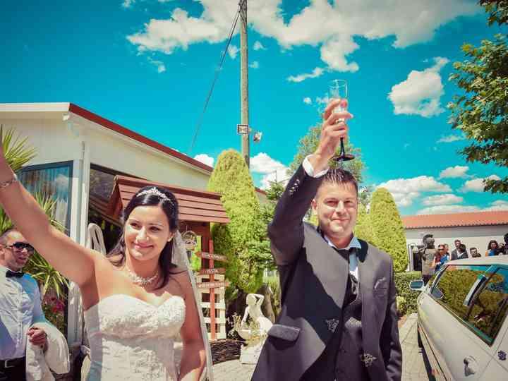 O casamento de Tania e Ricardo