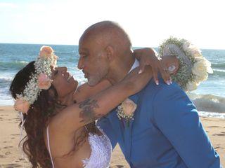 O casamento de Aida e Gary