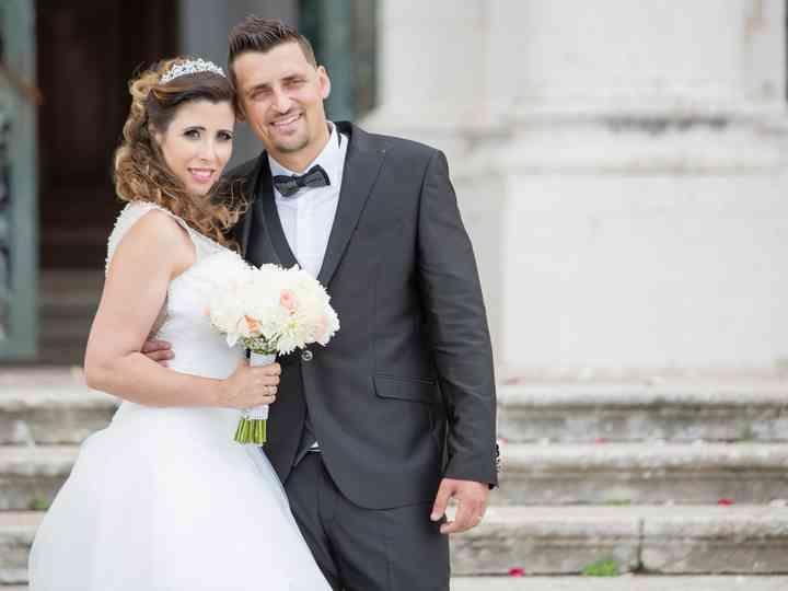 O casamento de Andreia e Ruben