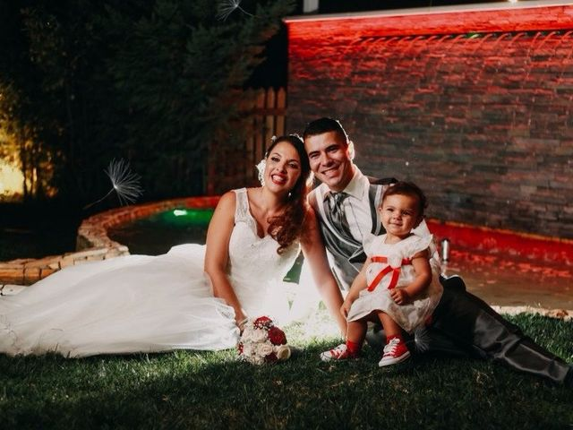 O casamento de Cláudia e José