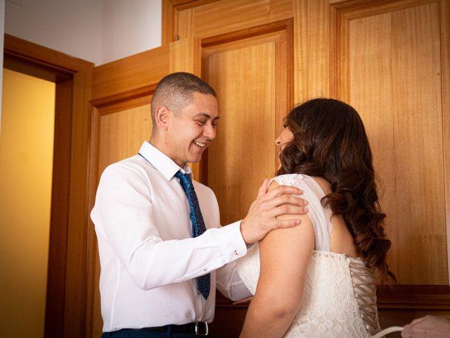 O casamento de Nuno e Virginia em Santo Estevão, Tavira 9