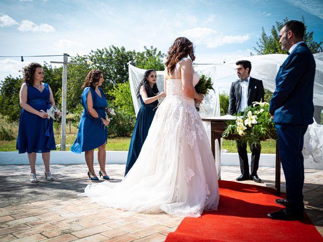 O casamento de Nuno e Virginia em Santo Estevão, Tavira 16
