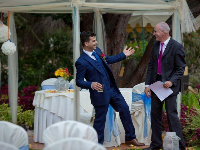 O casamento de José e Gail em Caniço, Madeira 10