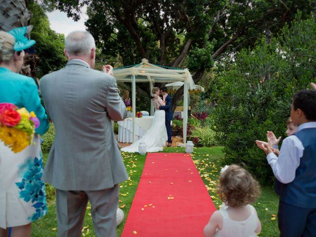 O casamento de José e Gail em Caniço, Madeira 70