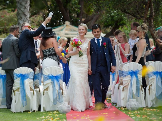 O casamento de José e Gail em Caniço, Madeira 73