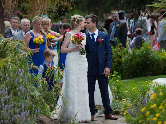 O casamento de José e Gail em Caniço, Madeira 75