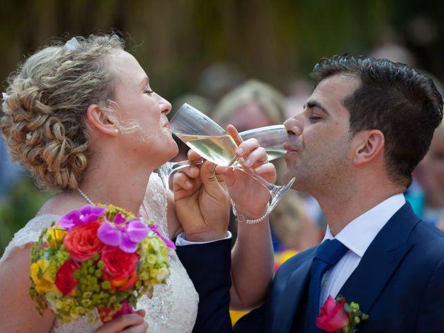 O casamento de José e Gail em Caniço, Madeira 1
