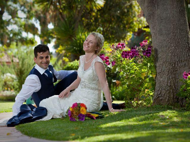 O casamento de José e Gail em Caniço, Madeira 92