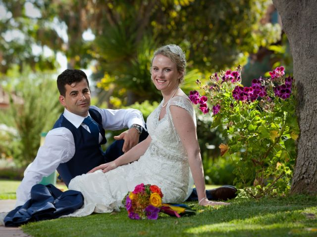 O casamento de Gail e José
