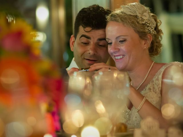 O casamento de José e Gail em Caniço, Madeira 125