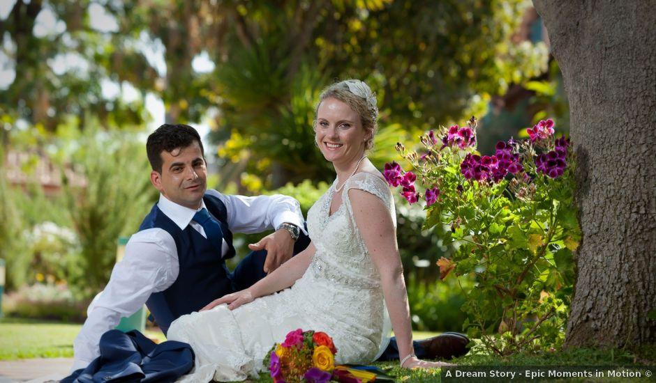 O casamento de José e Gail em Caniço, Madeira