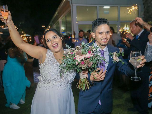 O casamento de Viviane e Kelson
