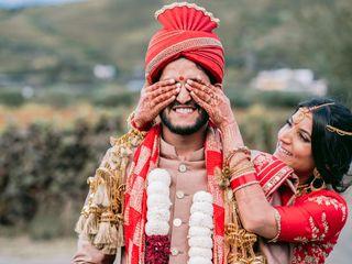 O casamento de Garima e Pranay
