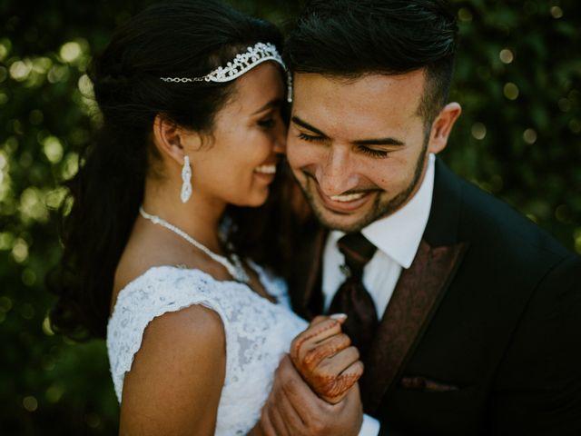 O casamento de Souad e Rui