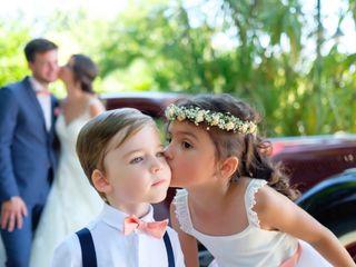 O casamento de Luísa e Franck