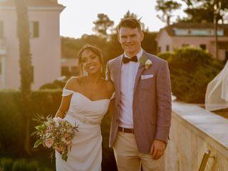 O casamento de Ester e Colm