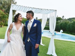 O casamento de Luís e Mónica 1