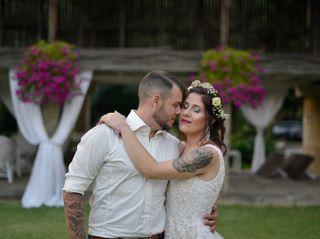 O casamento de Luís e Mónica