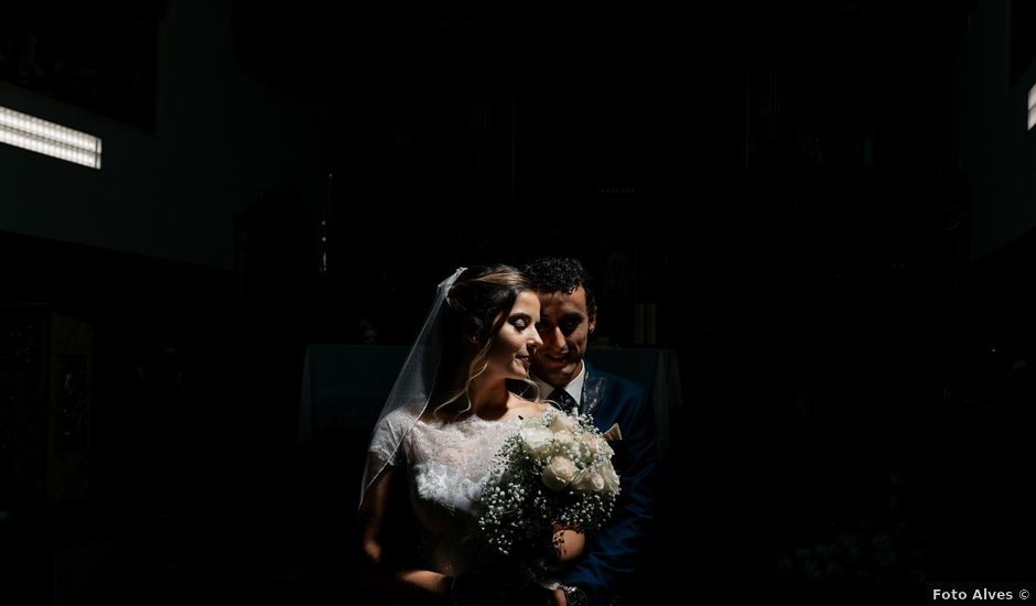 O casamento de André e Barbara em Cortegaça, Ovar