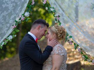 O casamento de Silvia e André