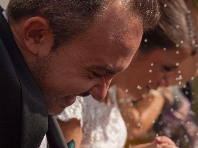 O casamento de Maria e Silvio
