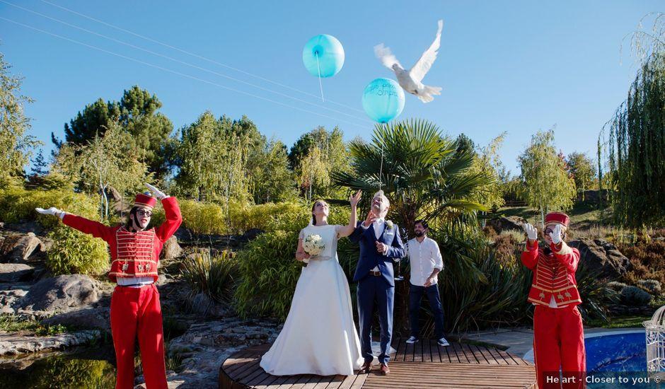 O casamento de Carlos e Joana em Vila Real, Vila Real (Concelho)