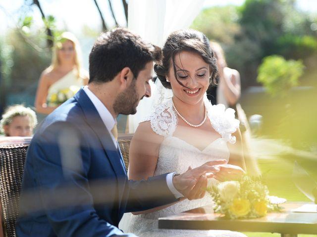 O casamento de André e Francesca em Vila Nova de Milfontes, Odemira 7