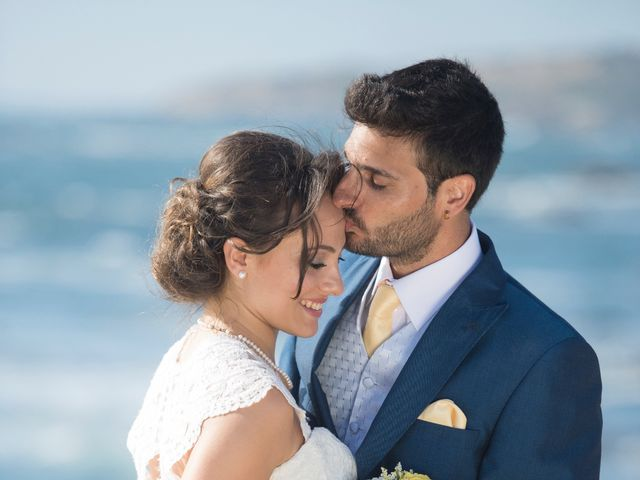 O casamento de André e Francesca em Vila Nova de Milfontes, Odemira 15