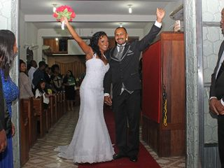O casamento de Esther e Wemerson