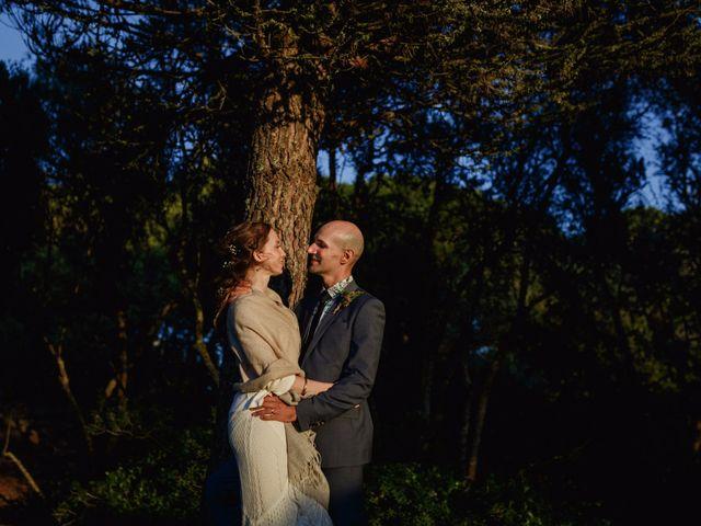 O casamento de Ellie e Sandro