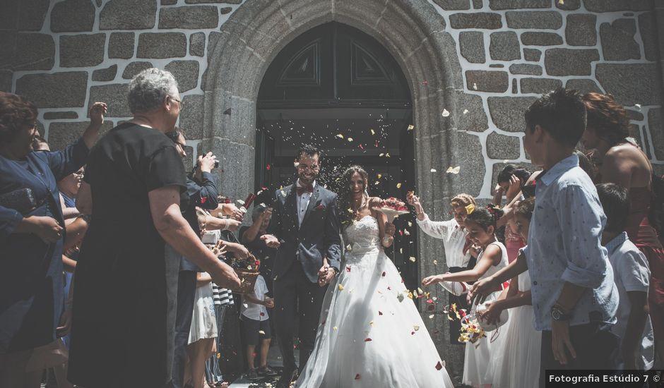 O casamento de José Pedro e Heloísa em Santar, Nelas