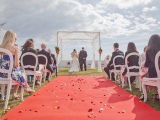 O casamento de Michelle e Marcos