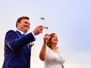O casamento de Inês e Anders