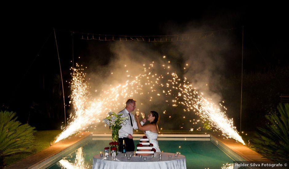 O casamento de Anders e Idália em Pico, Vila Verde