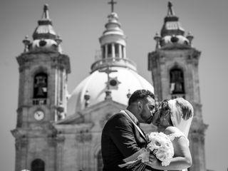O casamento de Laetitia e Telmo