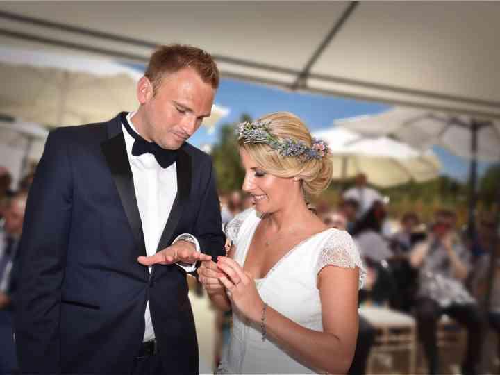 O casamento de Yvone e Hannes