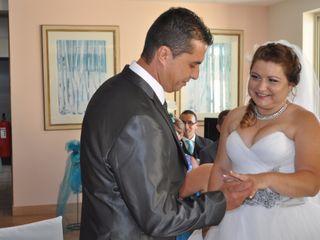 O casamento de Cláudia e Dinarte